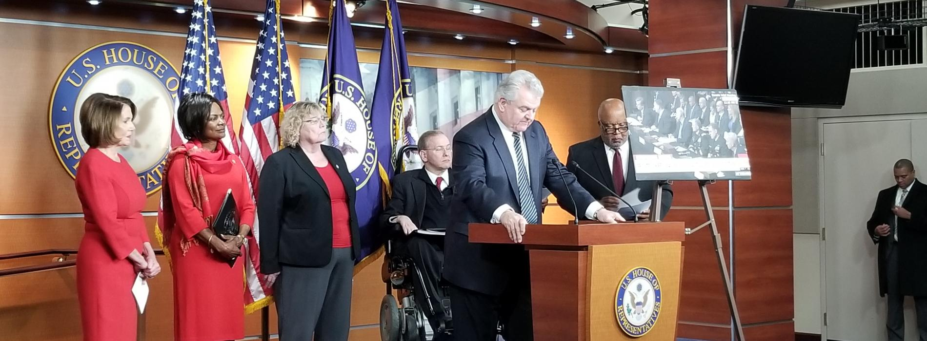 he Congressional Task Force on Election Security Press Conference